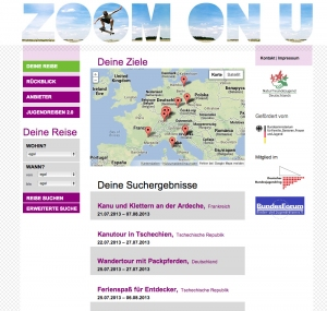 ZOOM ON U: JUGEND REIST ANDERS